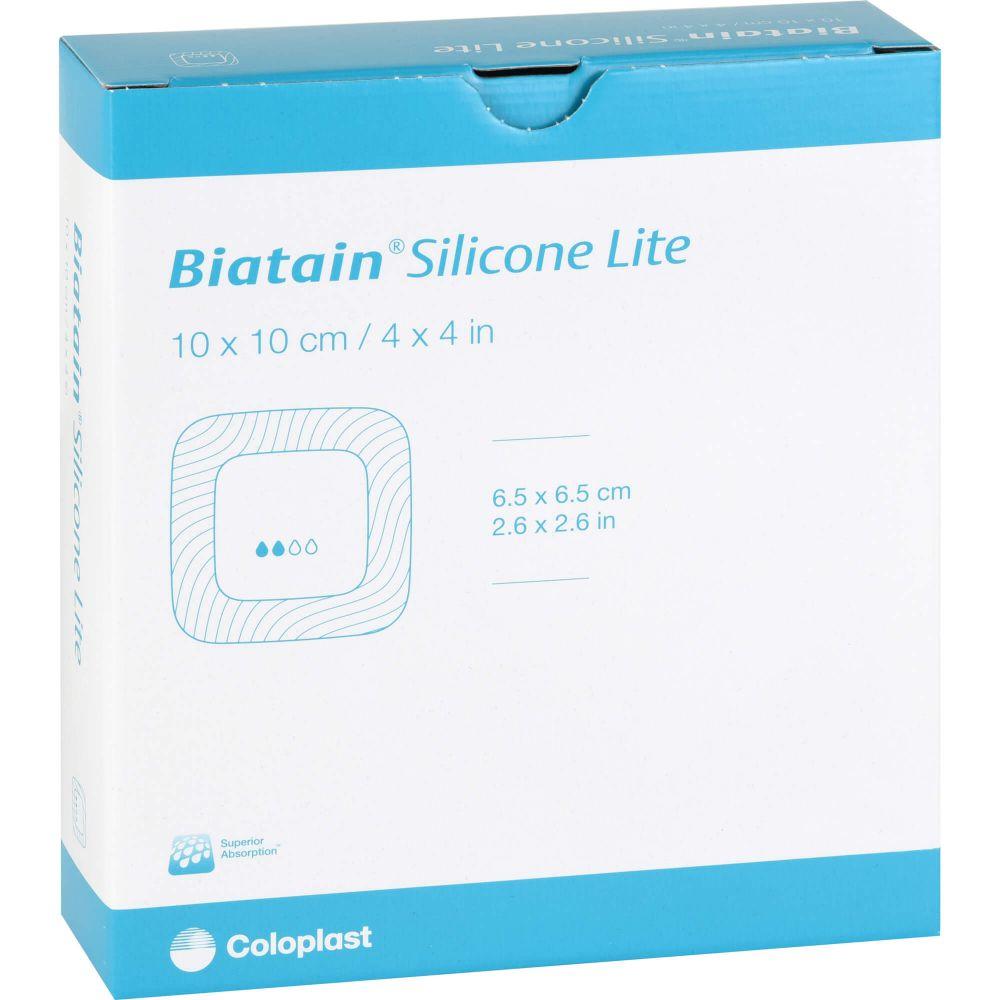 BIATAIN Silicone Lite Schaumverband 10x10 cm