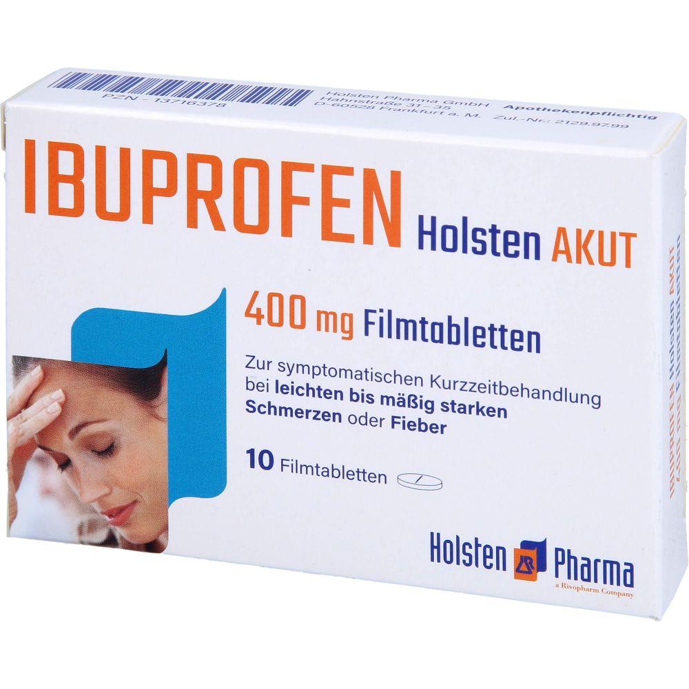 IBUPROFEN Holsten akut 400 mg Filmtabletten
