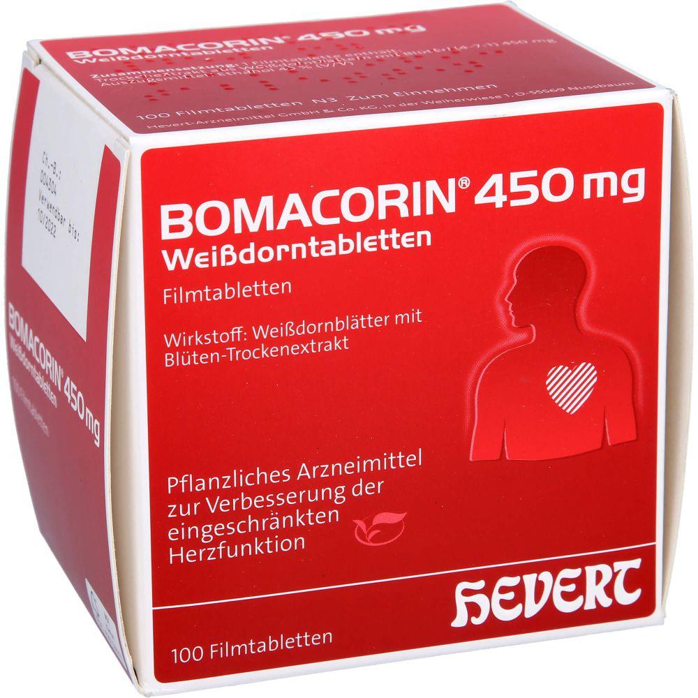 BOMACORIN 450 mg Weißdorntabletten