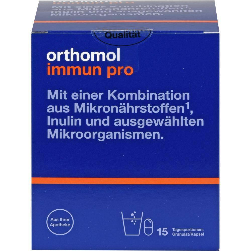 ORTHOMOL Immun pro Granulat/Kapseln Kombipack.
