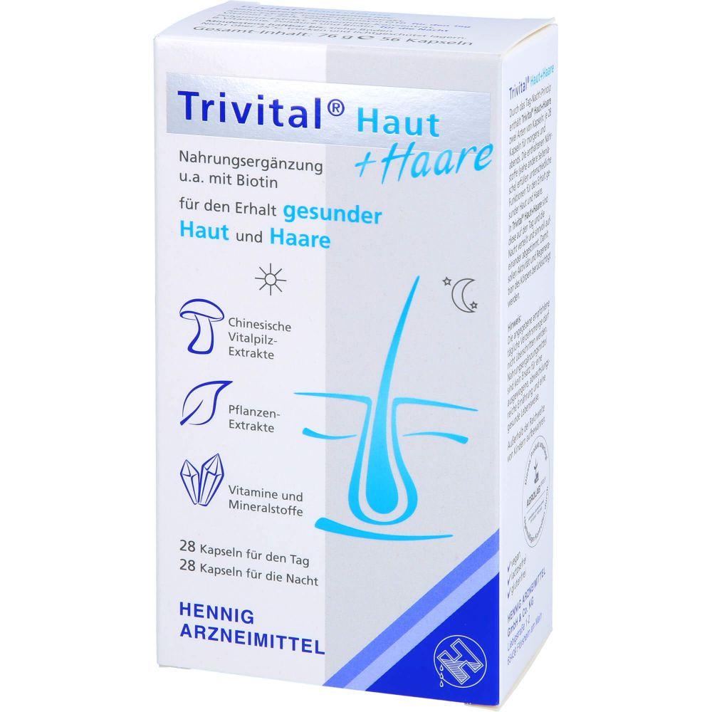 TRIVITAL Haut+Haare Kapseln