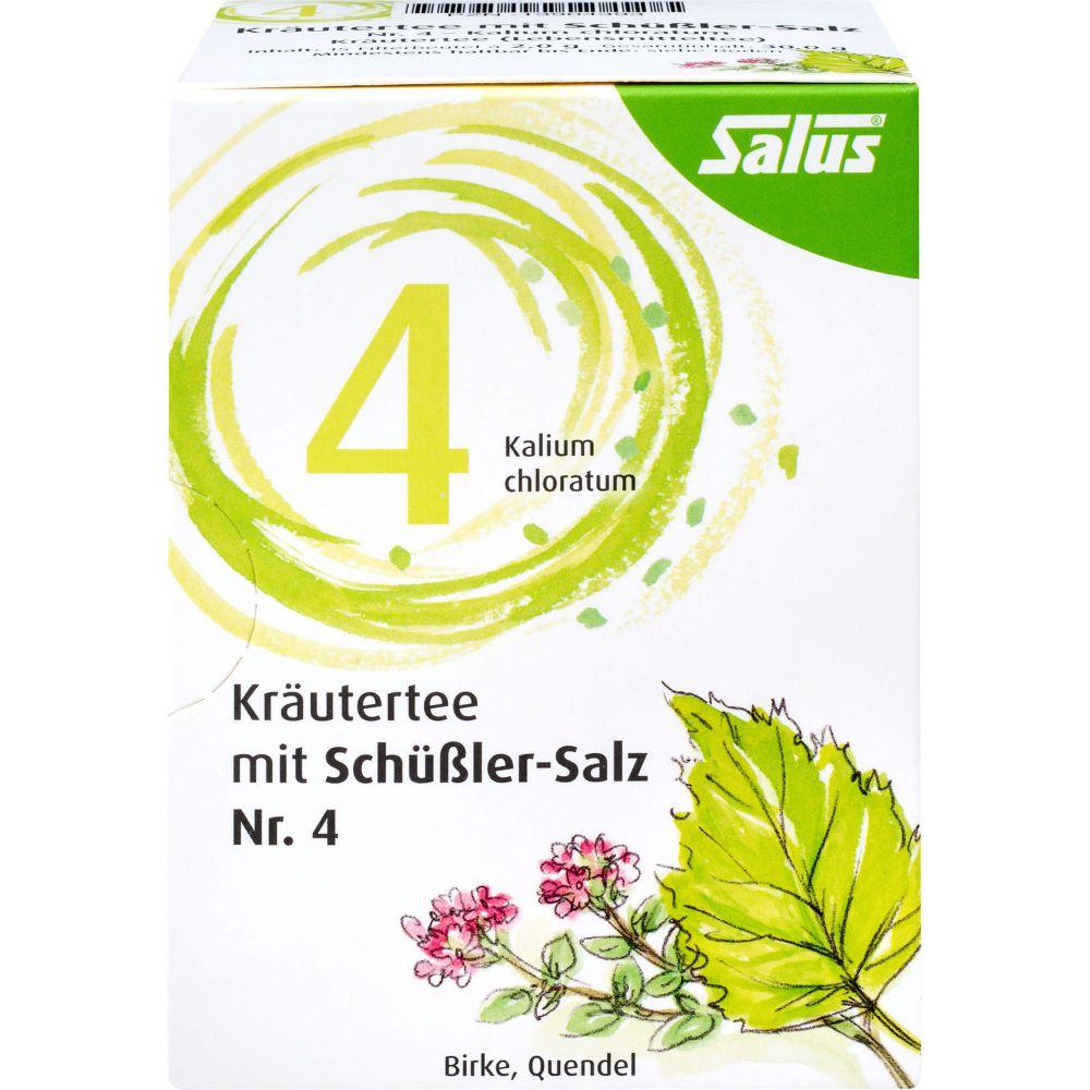 KRÄUTERTEE mit Schüssler-Salz Nr.4 Salus Fbtl.