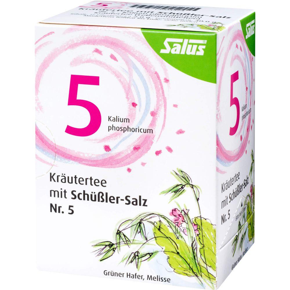 KRÄUTERTEE mit Schüssler-Salz Nr.5 Salus Fbtl.