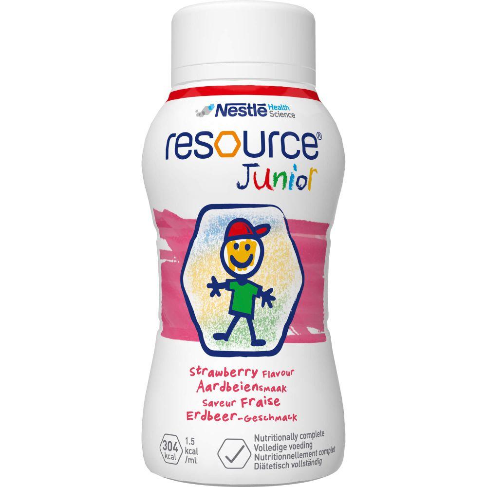 RESOURCE Junior Erdbeer-Geschmack flüssig