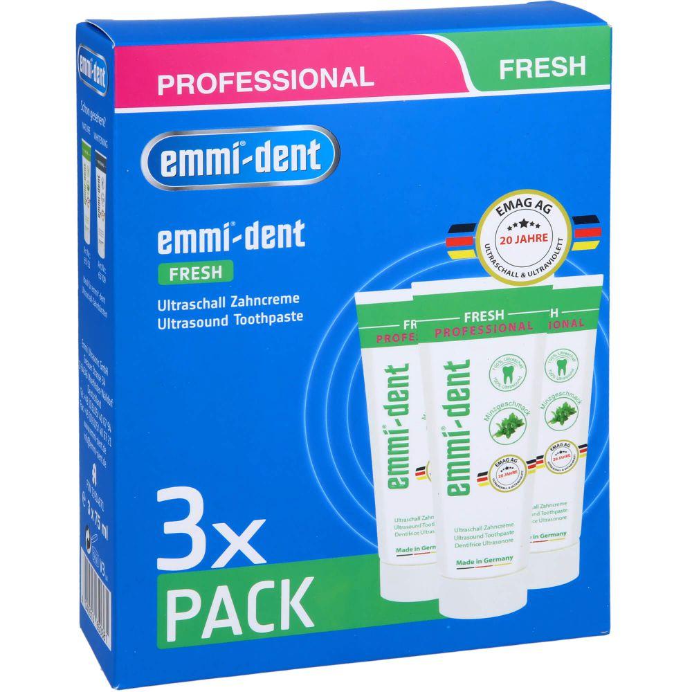 EMMI-DENT Ultraschall Zahncreme fresh Set