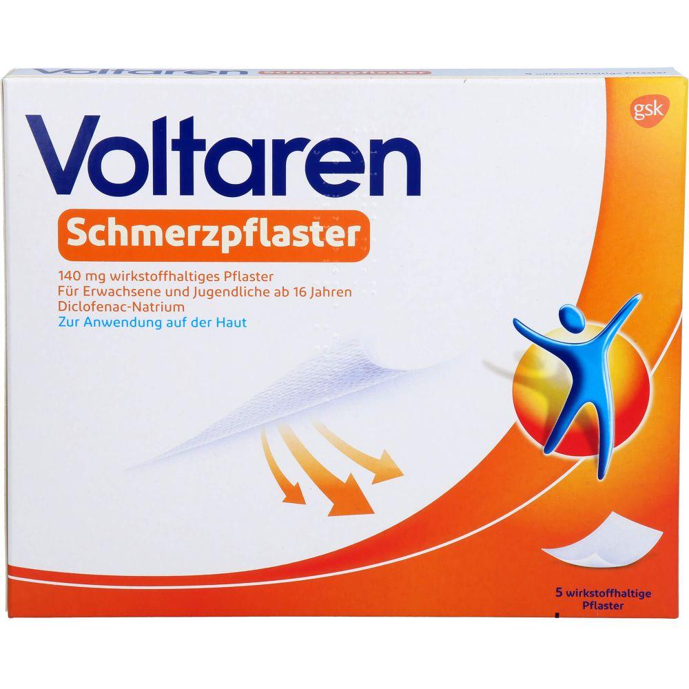 VOLTAREN Schmerzpflaster 140 mg wirkstoffh.Pflast.