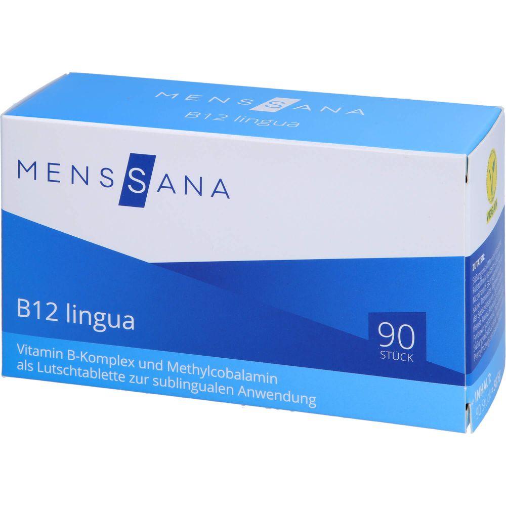 B12 LINGUA MensSana Sublingualtabletten