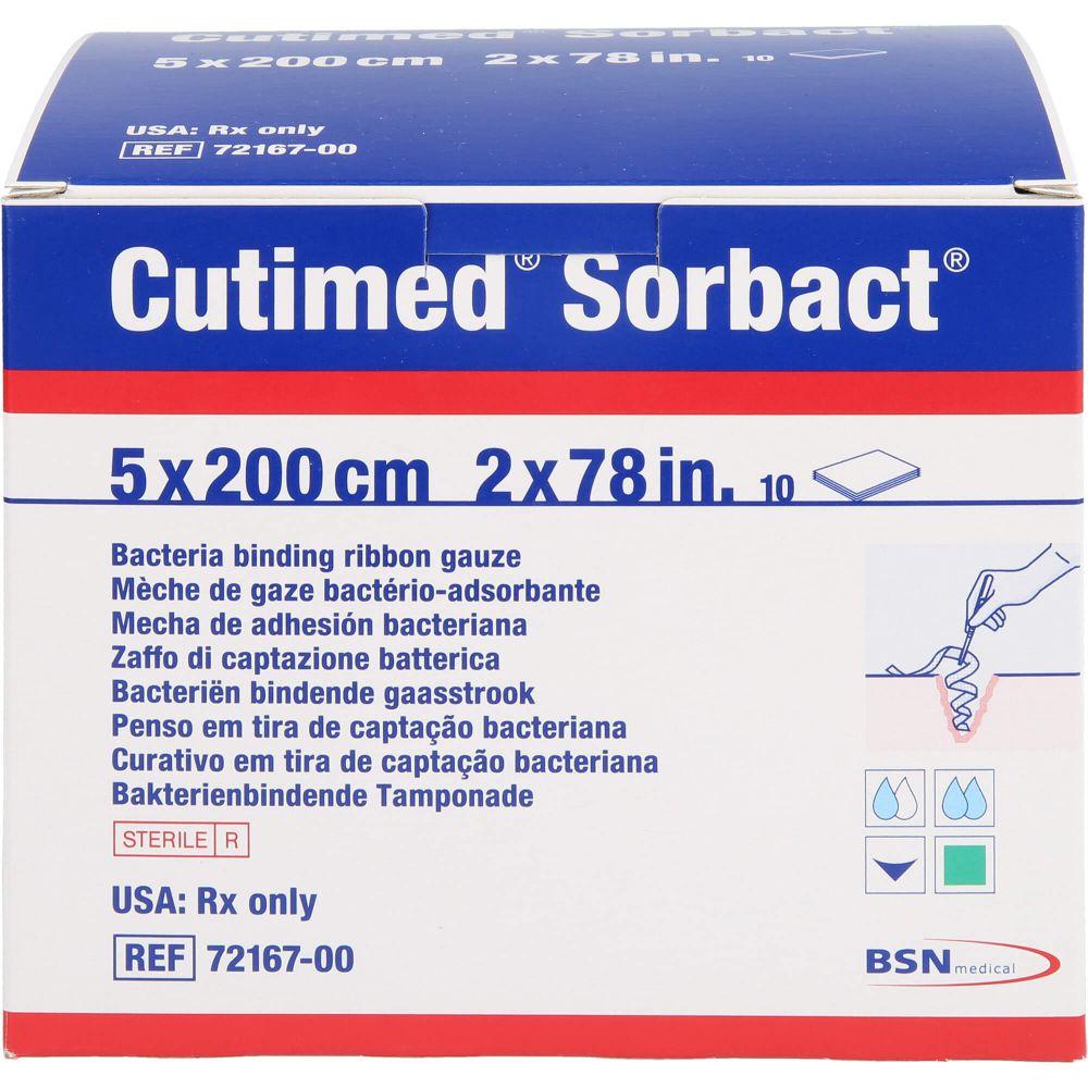 CUTIMED Sorbact Tamponaden 5x200 cm
