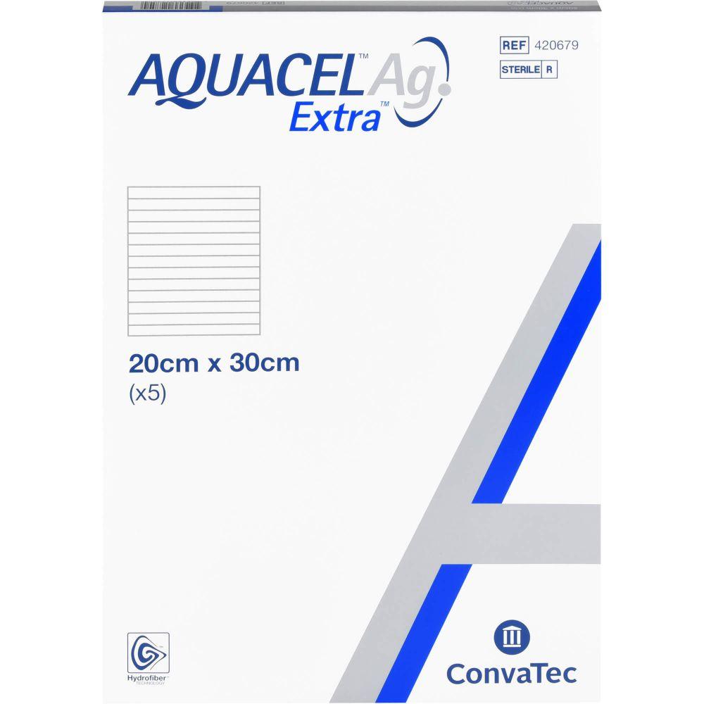 AQUACEL Ag Extra 20x30 cm Kompressen
