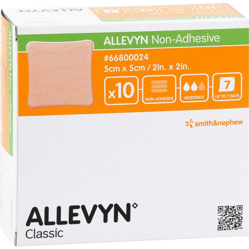 ALLEVYN non Adhesive 5x5 cm Wundverband