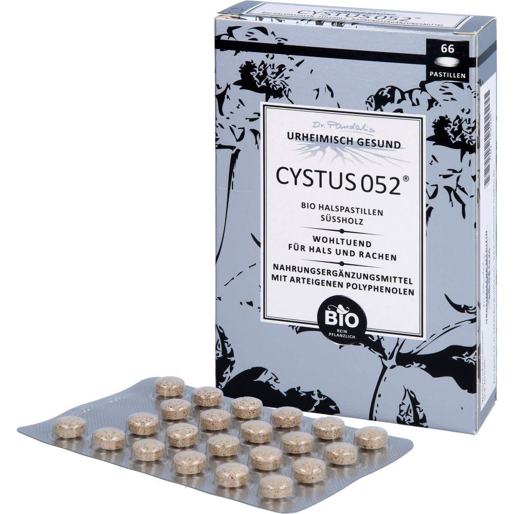 CYSTUS 052 Bio Halspastillen Süßholz