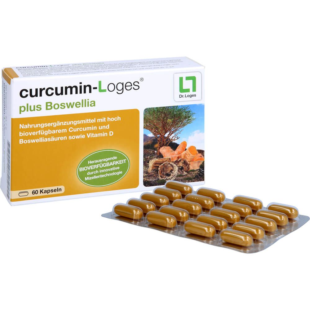 CURCUMIN-LOGES plus Boswellia Kapseln