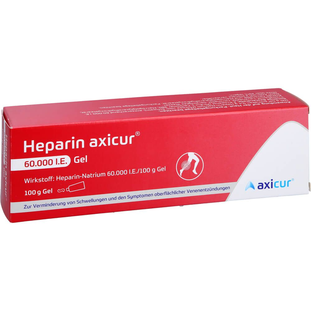 HEPARIN AXICUR 60.000 I.E. Gel