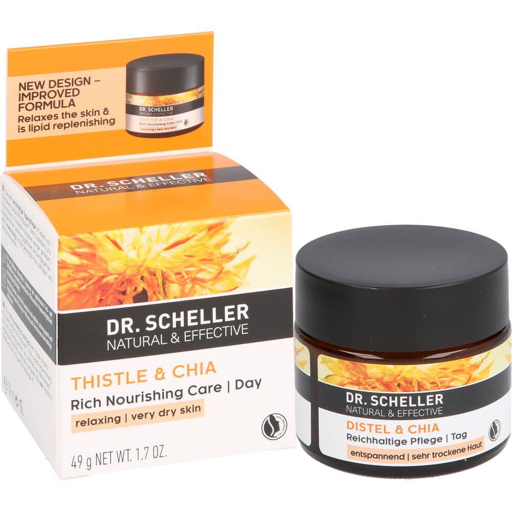 DR.SCHELLER Distel&Chia reichhaltige Pflege Tag