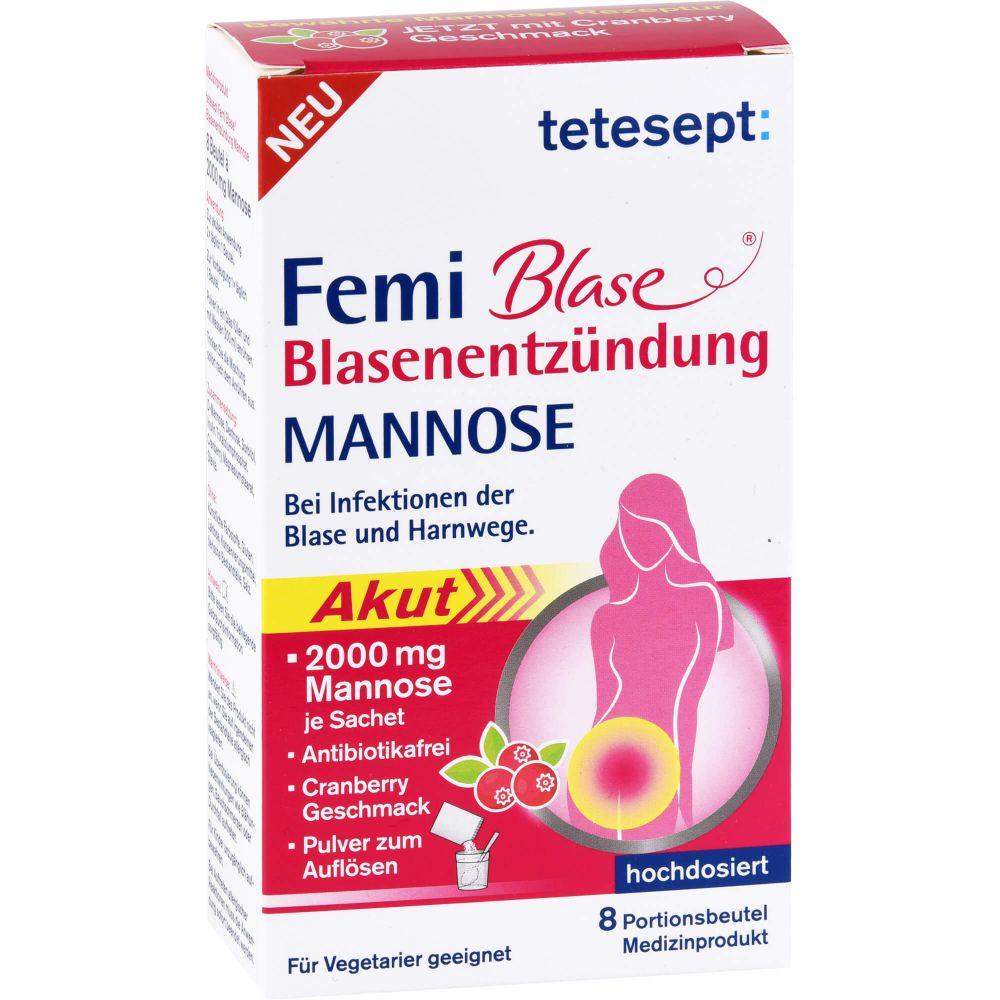 TETESEPT Femi Blase Blasenentzündung Mannose Btl.
