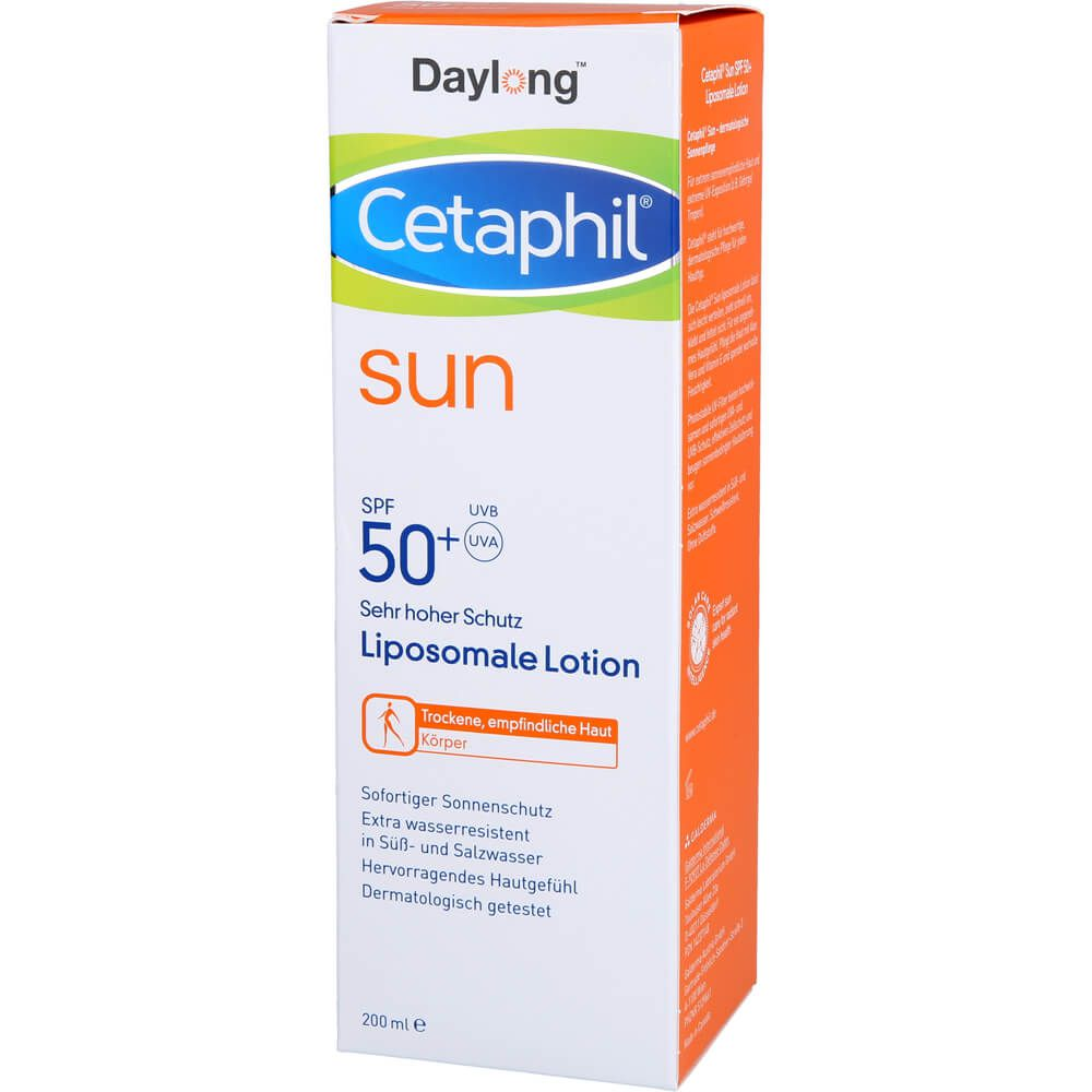 CETAPHIL Sun Daylong SPF 50+ liposomale Lotion
