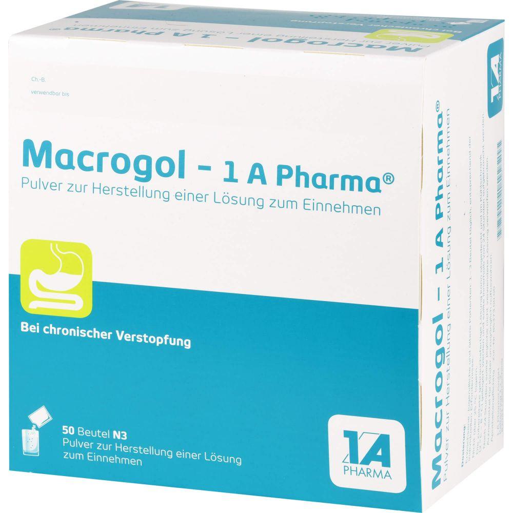MACROGOL-1A Pharma Plv.z.Her.e.Lsg.z.Einnehmen