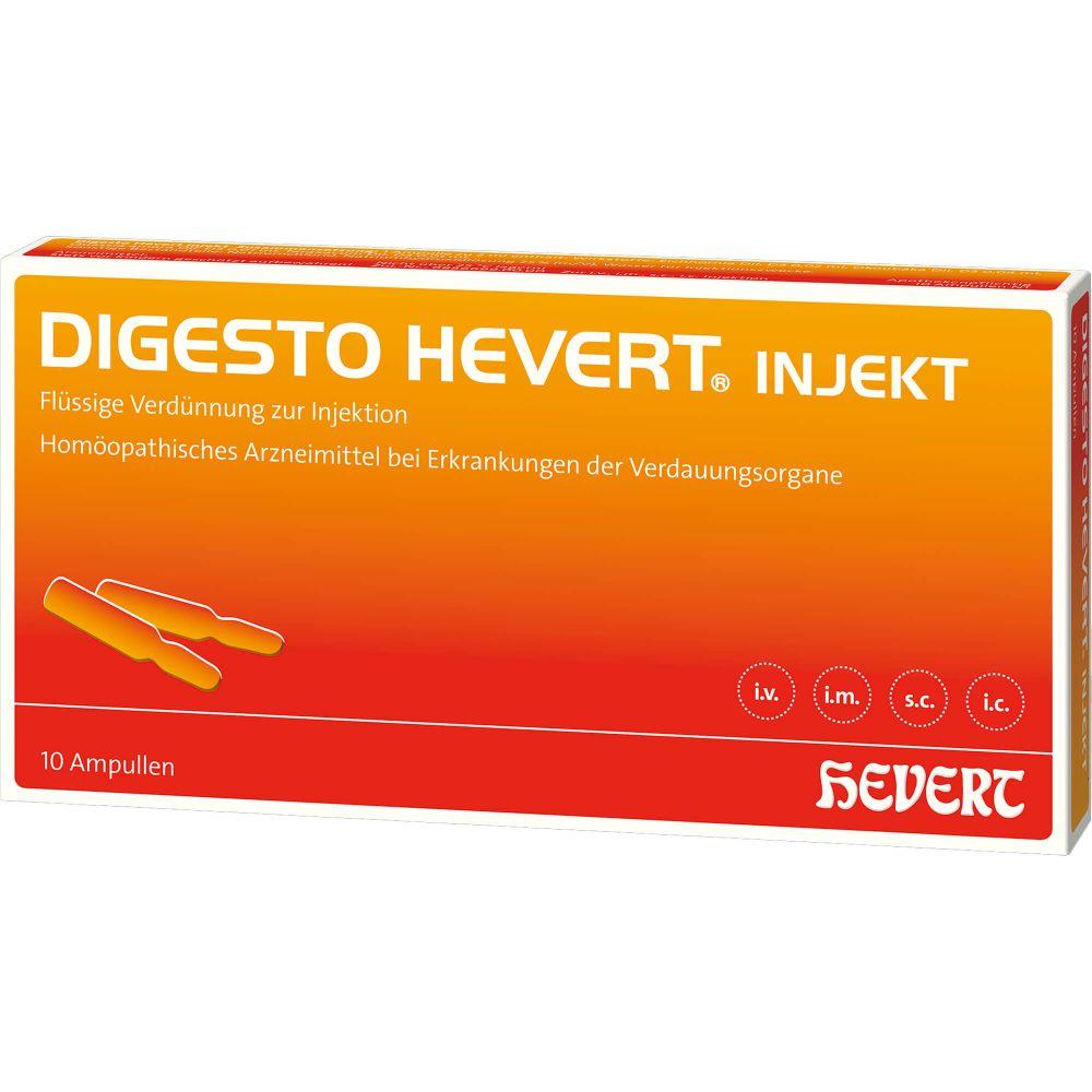 DIGESTO Hevert injekt Ampullen