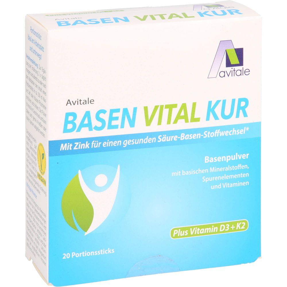 BASEN VITAL KUR plus Vitamin D3+K2 Pulver