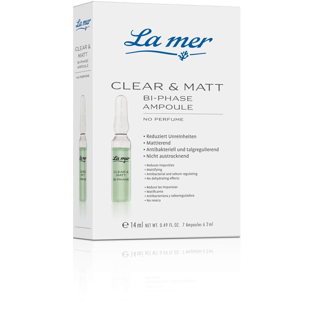 LA MER Ampulle Clear & Matt o.Parfum