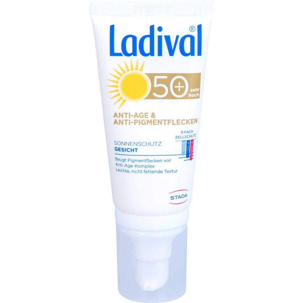 LADIVAL Sonnenschutz Gesicht Anti-Pigm.Cr.LSF 50+