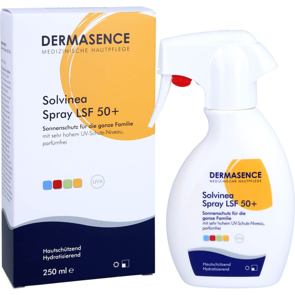 DERMASENCE Solvinea Spray LSF 50+