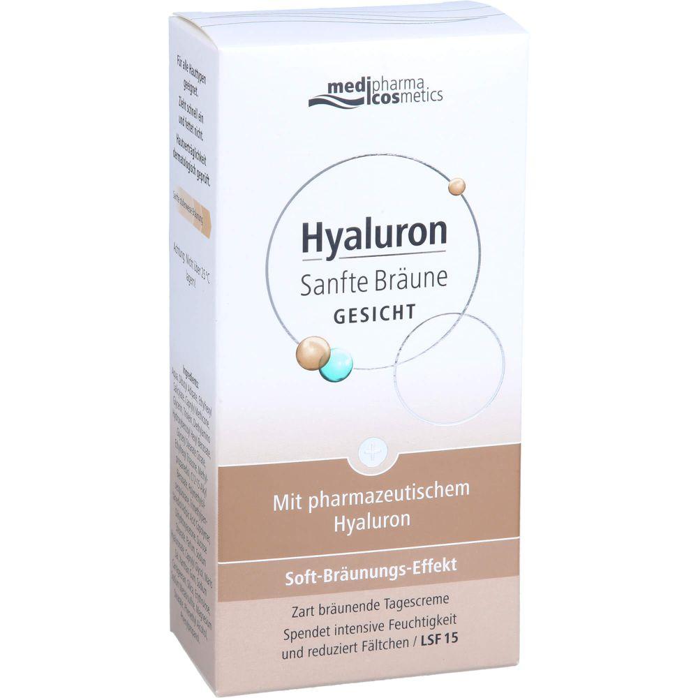 HYALURON SANFTE Bräune Gesichtspflege Creme