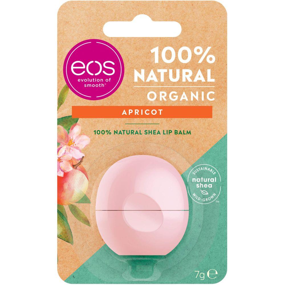 EOS Organic Lip Balm apricot sphere