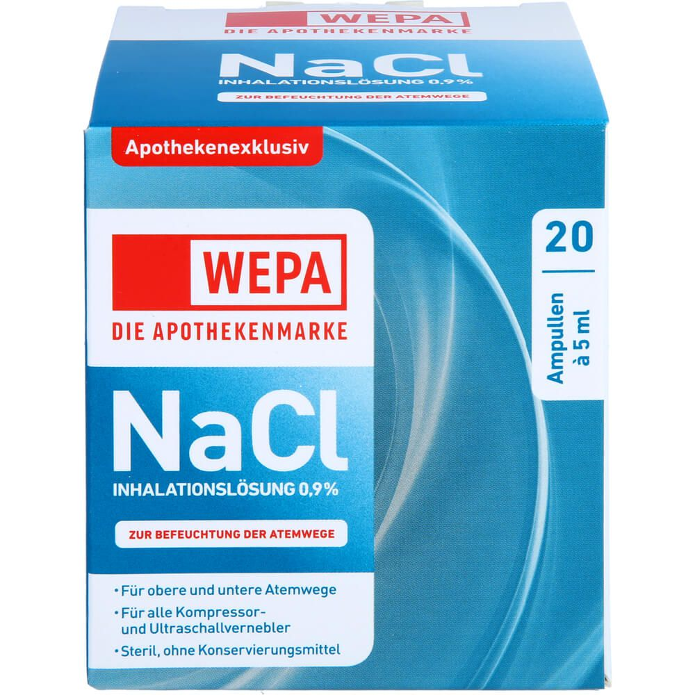 WEPA Inhalationslösung NaCl 0,9%