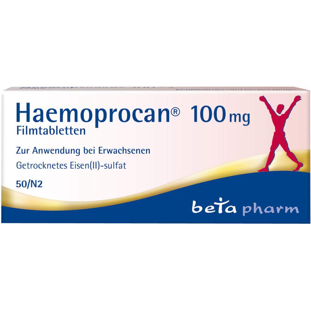 HAEMOPROCAN 100 mg Filmtabletten