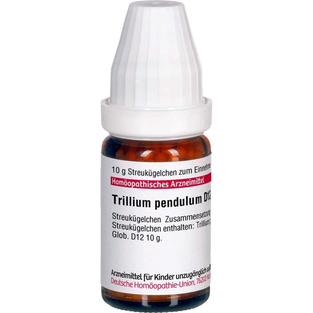 TRILLIUM PENDULUM D 12 Globuli