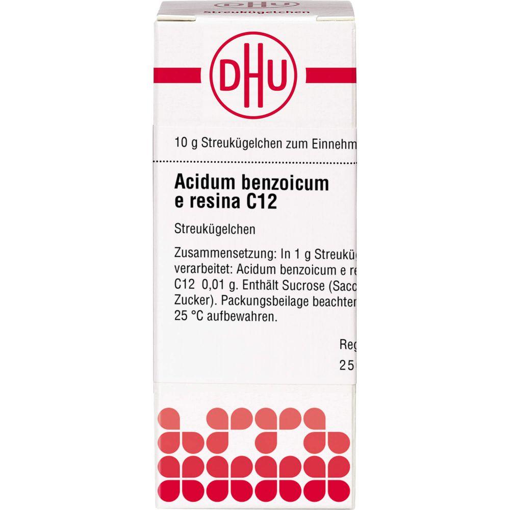 ACIDUM BENZOICUM E Resina C 12 Globuli
