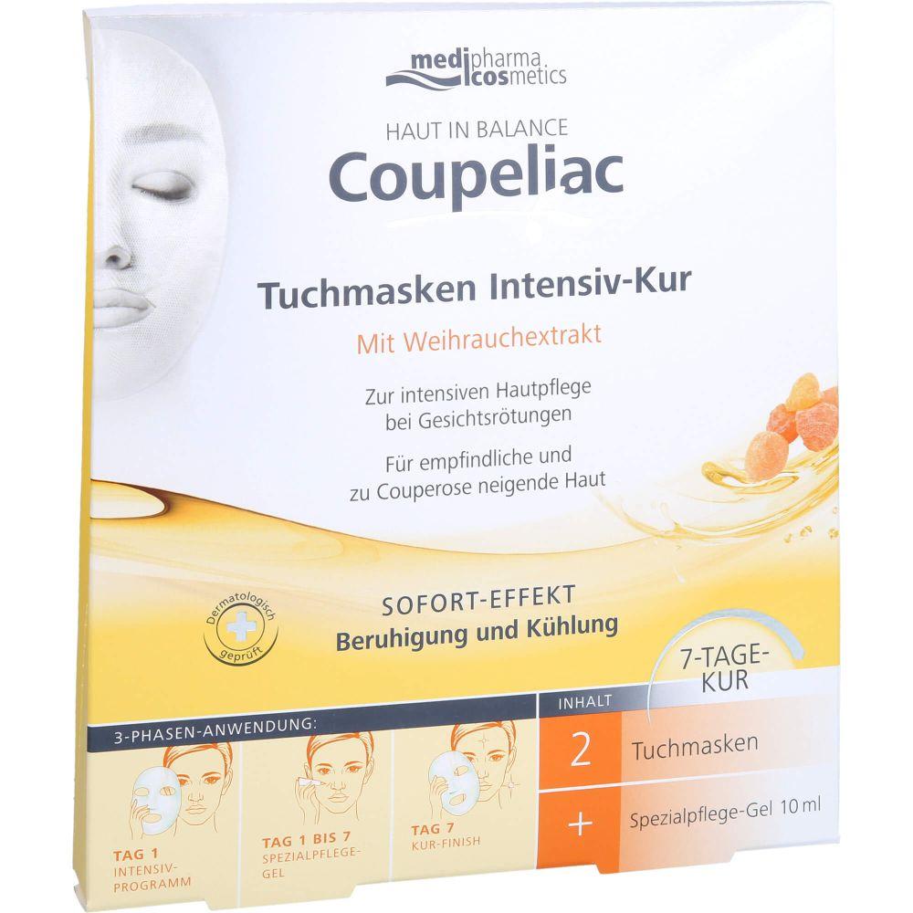 HAUT IN BALANCE Coupeliac Tuchmasken Intensiv-Kur