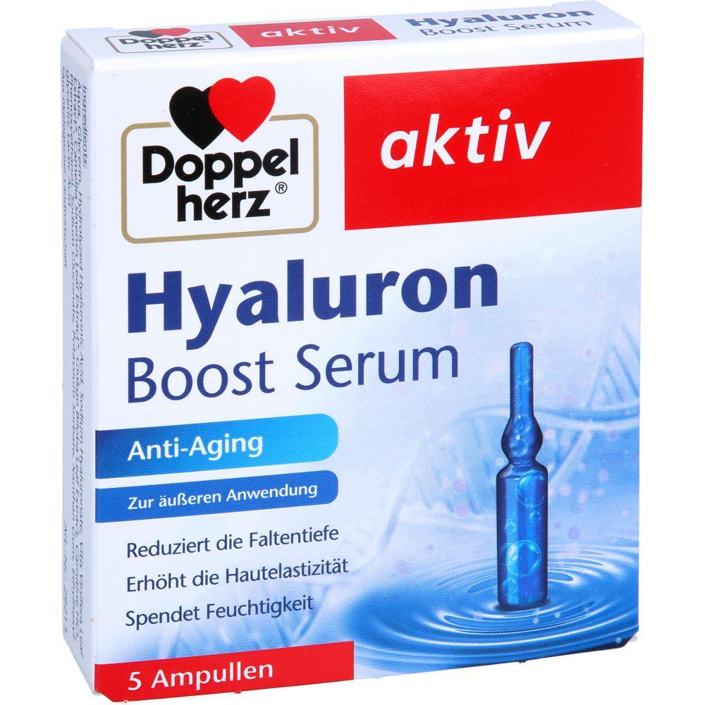 DOPPELHERZ Hyaluron Boost Serum Ampullen