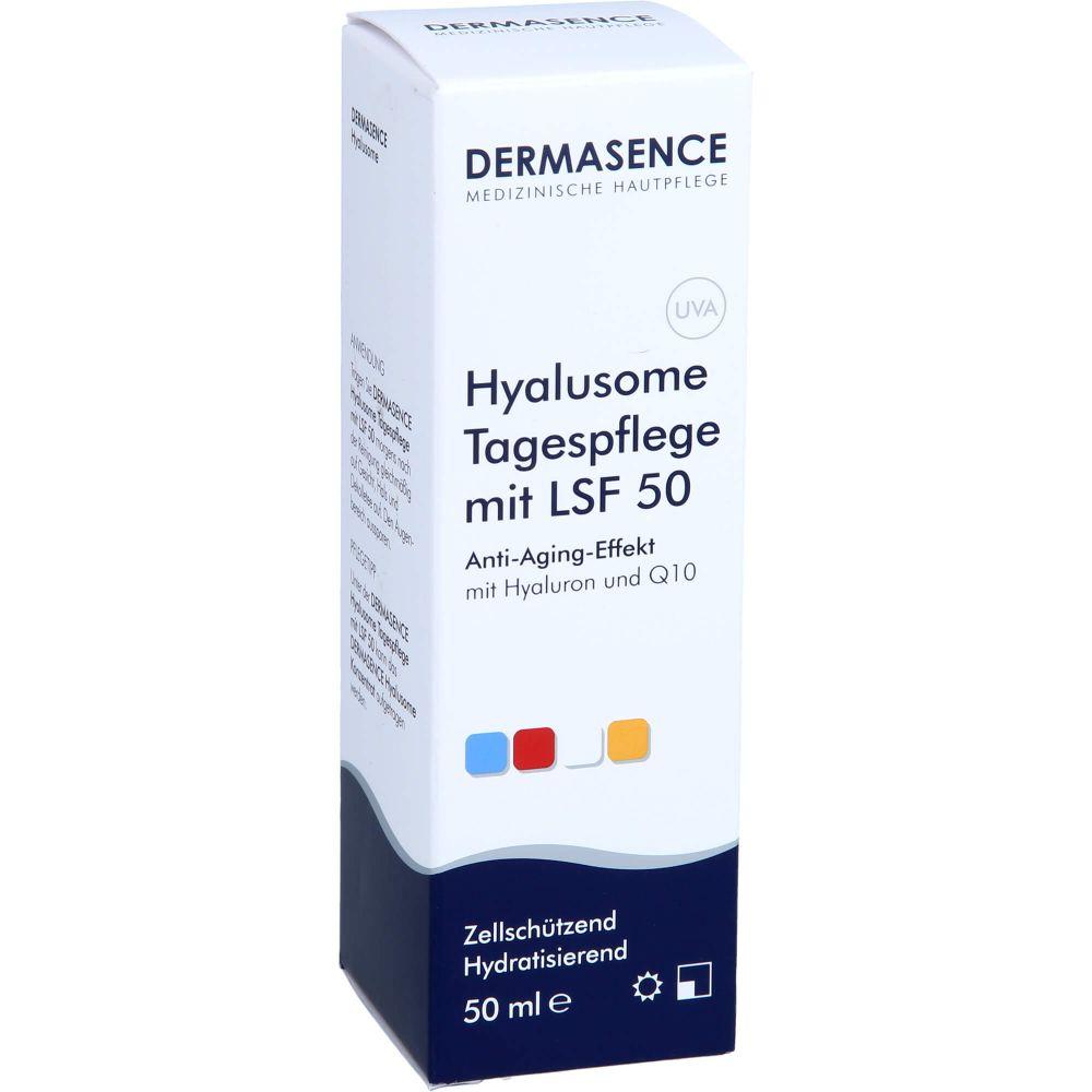 DERMASENCE Hyalusome Tagespflege mit LSF 50 Emuls.
