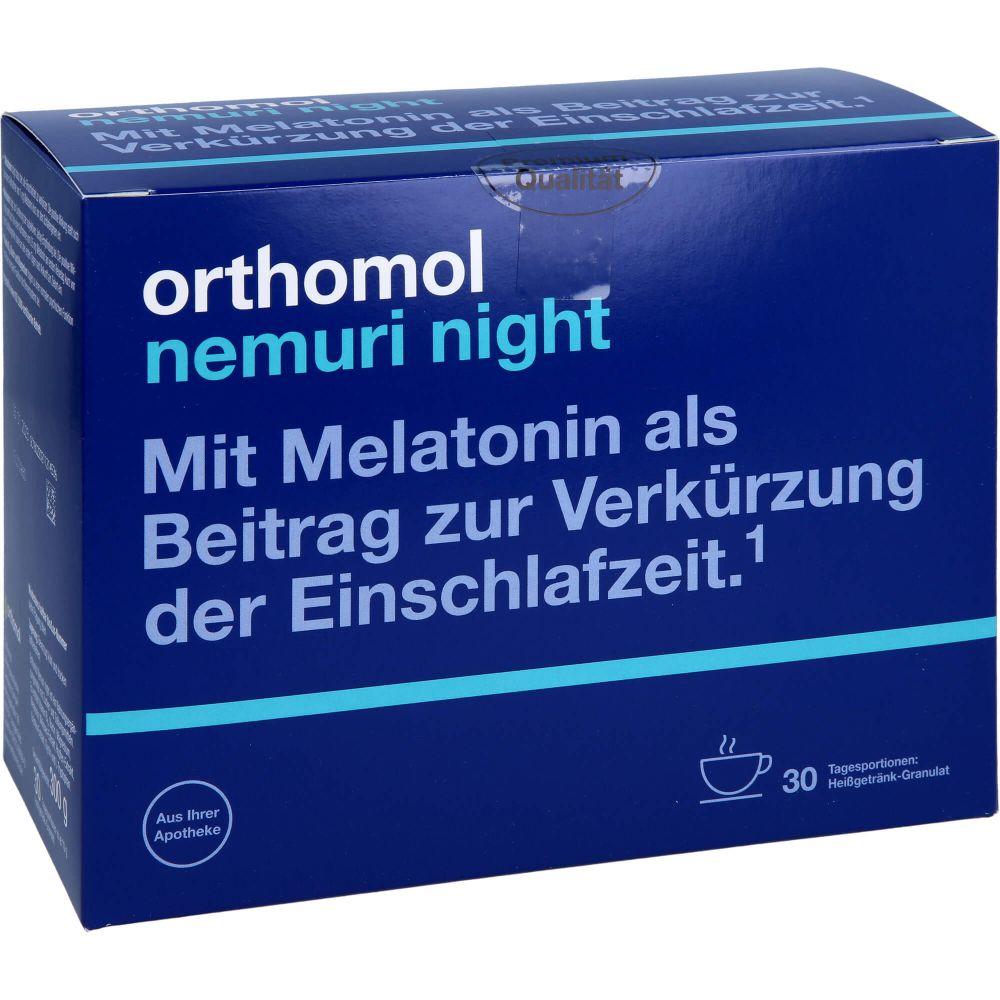 ORTHOMOL nemuri night Granulat