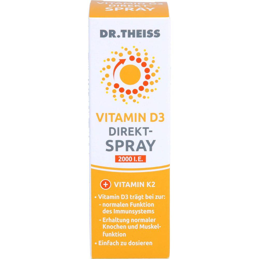 DR.THEISS Vitamin D3 Direkt-Spray