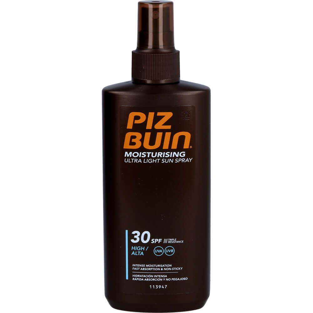 PIZ Buin Moisturising Ultra Light Sun Spray LSF 30