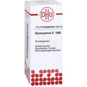 HYOSCYAMUS D 1000 Globuli