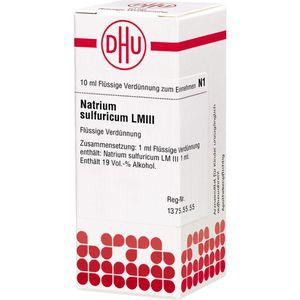 LM NATRIUM SULFURIC. III Dilution