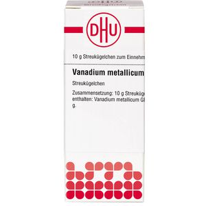 VANADIUM METALLICUM C 30 Globuli