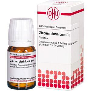 ZINCUM PICRINICUM D 6 Tabletten