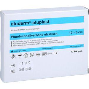 ALUDERM aluplast Wundverb.Pfl.6 cmx1 m elast.