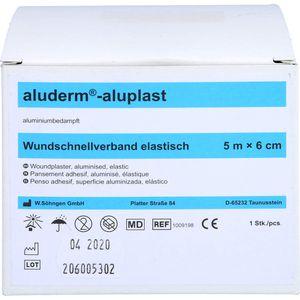 ALUDERM aluplast Wundverb.Pfl.6 cmx5 m elast.