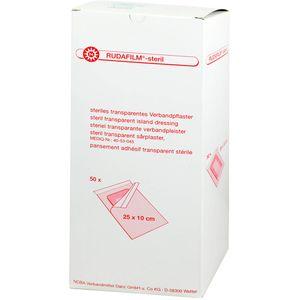 RUDAFILM-steril Verbandpfl.25x10 cm transp.