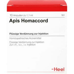 APIS HOMACCORD Ampullen