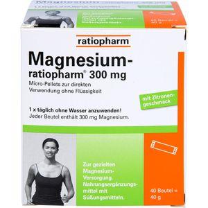 MAGNESIUM-RATIOPHARM 300 mg Micro-Pellets m.Gran.