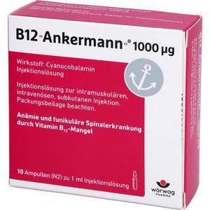 B12 ANKERMANN 1.000 μg Ampullen