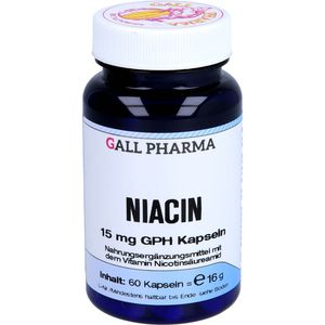 NIACIN 15 mg Kapseln