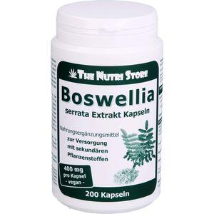 BOSWELLIA 400 mg Extrakt vegetarische Kapseln